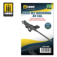 1/35 WWII M2 Browning .50 cal