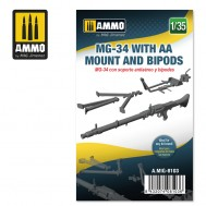 1/35 MG-34 WITH AA MOUNT AND BIPODS