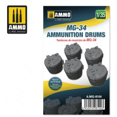 1/35 MG-34 AMMUNITION DRUMS