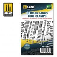 1/35 GERMAN TANKS TOOL CLAMPS