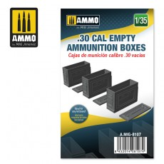 1/35 .30 CAL EMPTY AMMUNITION BOXES