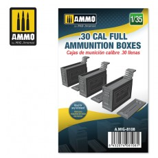 1/35 .30 CAL FULL AMMUNITION BOXES