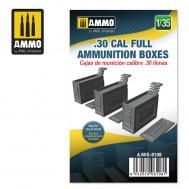 1/35 .30 CAL FULL AMMUNITION BOXES