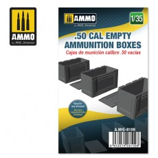 1/35 .50 CAL EMPTY AMMUNITION BOXES