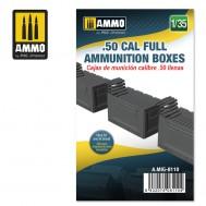 1/35 .50 CAL FULL AMMUNITION BOXES