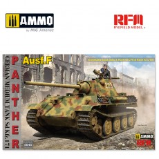 1/35 Panther Ausf.F w/workable track links