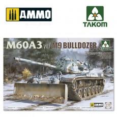 1/35 M60A3 w/M9 BULLDOZER