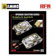 1/35 Upgrade set for 5046, 5053 & 5055 Pz.IV Ausf.G/H