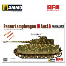 1/35 Pz.kpfw.IV Ausf.G without interior
