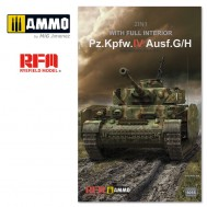 1/35 Pz.kpfw.IV Ausf.G/H 2in1  with full interior