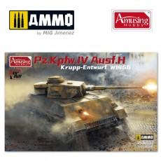 1/35 Panzer IV Ausf.H Krupp Entwurf W1466