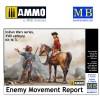 1/35 Enemy Movement Report. Indian Wars Series, XVIII century. Kit No. 3