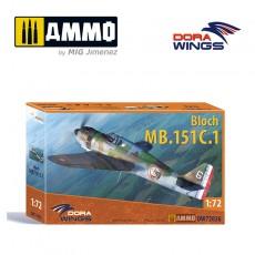 1/72 Bloch MB.151C.1