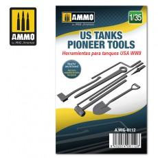 1/35 US WWII Tank Pioneer Tools