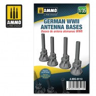 1/35 German WWII Antenna Bases
