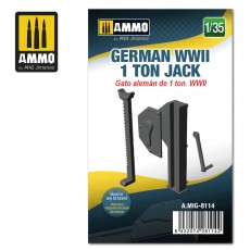 1/35 German WWII 1 ton Jack