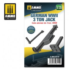 1/35 German WWII 3 ton Jack