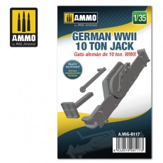 1/35 German WWII 10 ton Jack