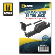 1/35 German WWII 15 ton Jack