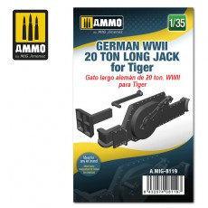 1/35 German WWII 20 ton Long Jack for Tiger