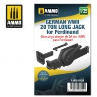 1/35 German WWII 20 ton Long Jack for Ferdinand