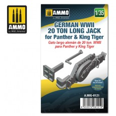 1/35 German WWII 20 ton Long Jack for Panther & King Tiger
