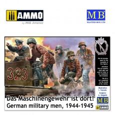 1/35 German military men, 1944-1945. Das Maschinengewehr ist dort!