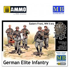 1/35 German Elite Infantry, Eastern Front, WWII Era