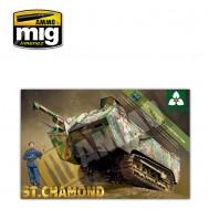 1/35 French Heavy Tank St.Chamond Late Type