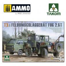 1/35 T3+ Feldumschlaggerät FUG 2.5t