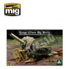 1/35 Gran Berta. Mortero alemán de 420 mm. 1a Guerra Mundial