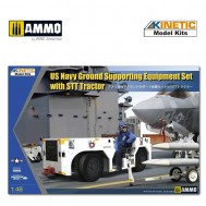 1/48 US NAVY Ground Supporting Equipment Set with STT Tractor