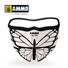 "AMMO for Life ""Butterfly"" Face Mask"