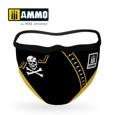 "AMMO FACE MASK ""Jolly Rogers"""