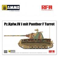 1/35 Pz.Kpfw.IV J mit Panther F Turret