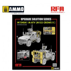 1/35 Upgrade Set 1 for 5052 M1240A1 M-ATV (M153 CROWS II)