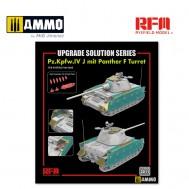 1/35 Upgrade Set for 5068 Pz.Kpfw.IV J mit Panther F Turret