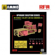 1/35 Upgrade Set 2 for 5052 M1240A1 M-ATV (M153 CROWS II)