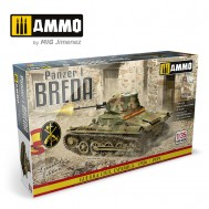 1/35 Panzer I Breda, Spanish Civil War 1936 - 1939