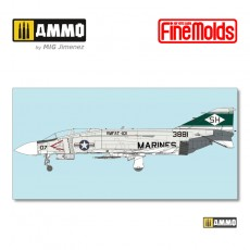 "U.S.M.C. F-4J JET FIGHTER ""Marines"""