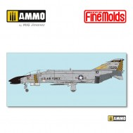 """1/72 U.S.NAVY F-4C JET FIGHTER """"Air National Guard"""""""