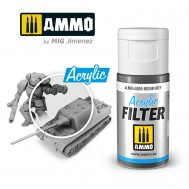 ACRYLIC FILTER Medium Grey