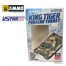 1/144 King Tiger Porsche Turret