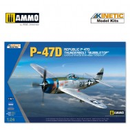 "1/24 P-47D Thunderbolt ""Bubbletop"""