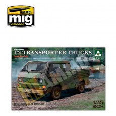 1/35 Bundeswehr T3 Transporter Trucks/ Double Cab