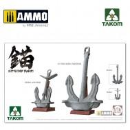 1/16 Battleship Yamato Anchors