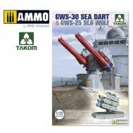 1/35 GWS-30 Sea Dart & GWS-25 Sea Wolf