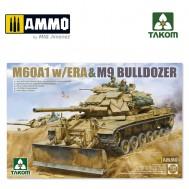 1/35 M60A1 w/ERA & M9 Bulldozer