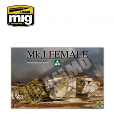 1/35 WWI Heavy Battle Tank Mk.I Female with Anti-grenade screen