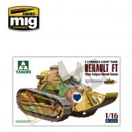 1/16 French Light Tank Renault FT char canon/Girod turret